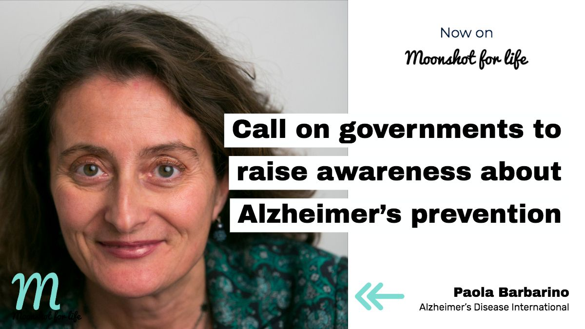 Governments need to take proactive steps in reducing the risk of #Alzheimers and similar diseases says @PaolaBarbarino of @AlzDisInt https://t.co/BBL78lS2CE #mentalhealth #dementia https://t.co/eyhVgCiCFo