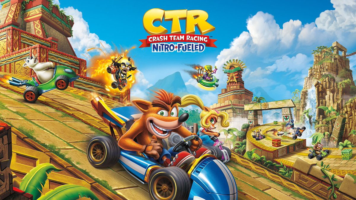 Crash Bandicoot On Twitter Ctr Is Right Around The Corner Look At The New Cover Art For Crash Team Racing Nitro Fueled Launching June 21 2019 Https T Co 8kpmji1ken © 2020 activision publishing inc. racing nitro fueled launching