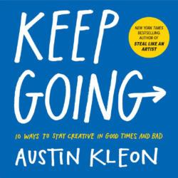 "Tip of the day: Forget the Noun, Do the Verb. Don't worry about becoming a ""painter"" and just paint. Want more tips like these? Come on out to our Midtown campus on May 1st to hear more from @austinkleon about his latest book. Get tickets: bit.ly/2IUfw0g"