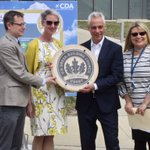 #ICYMI. @ChicagosMayor awarded the #FAA's South #AirTrafficControl Tower at @fly2ohare with Leadership in Energy and Environmental Design gold certification. Learn about air traffic control at https://t.co/4EBGlEdaji. #LEED