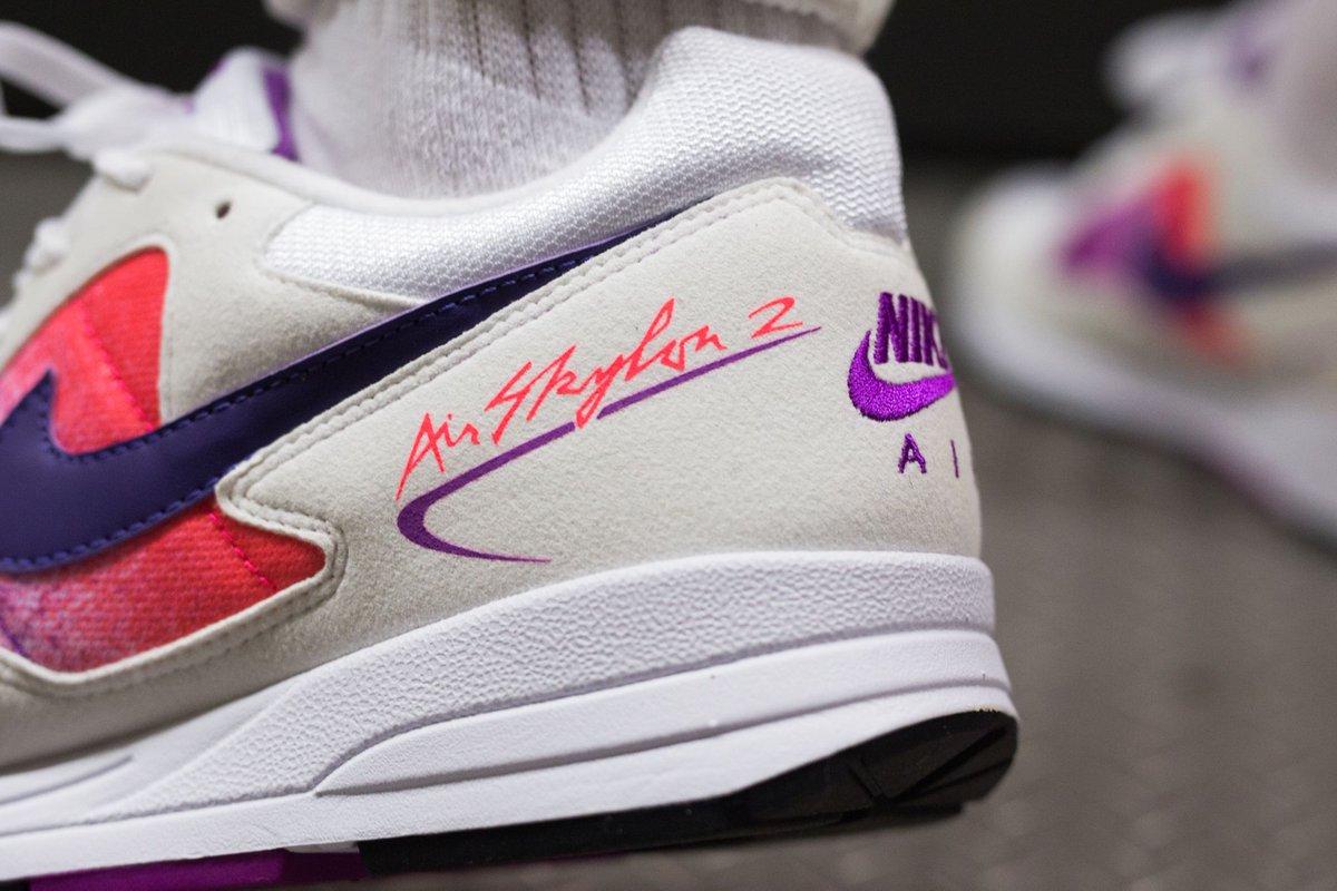 brand new 6f9b4 ac884 Nike Air Skylon II - White Court Purple-Solar Red go   take a look   http   bit.ly 2IT3AeZ  nike  airskylon  skylon  airskylon2  skylon2   courtpurple ...