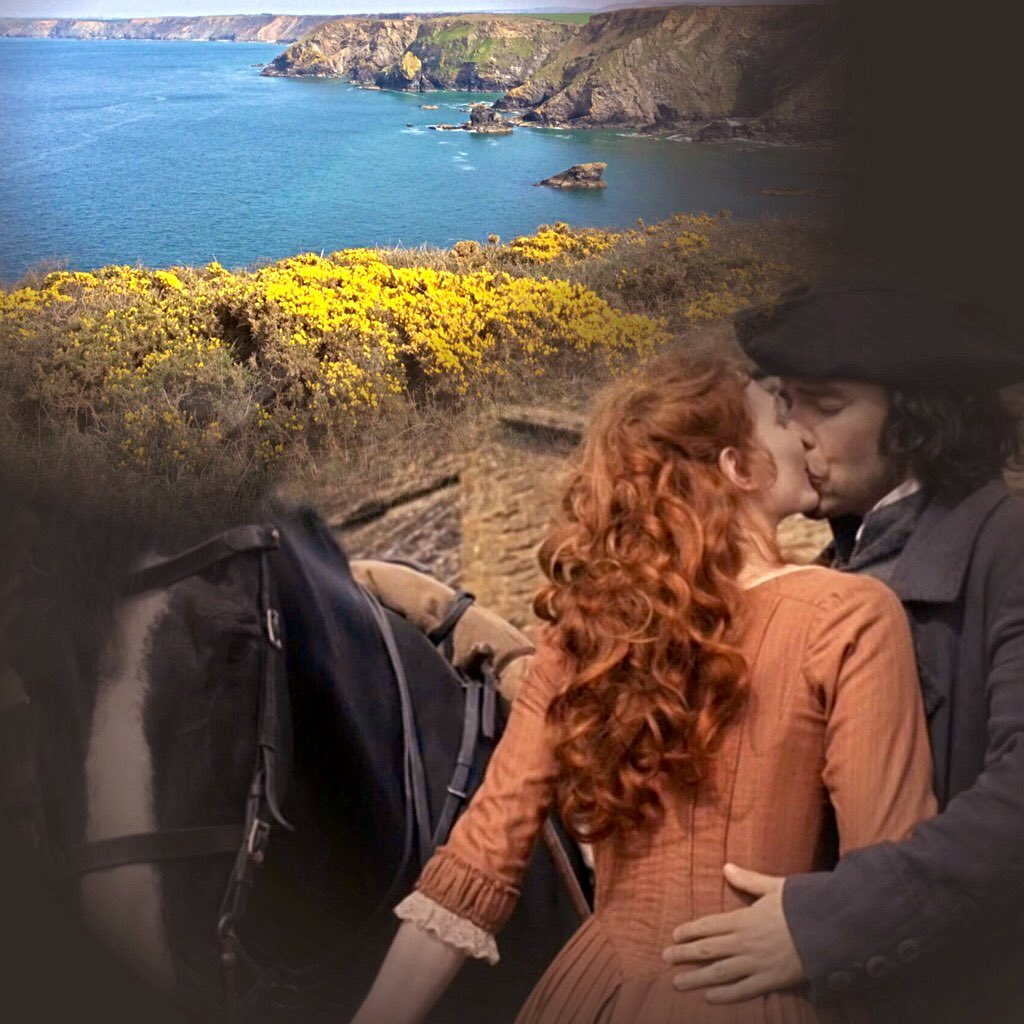 #TheseTwo...so #RossPoldark you left this beautiful place for London..#AidanTurner  #EleanorTomlinson #AidanCrew <br>http://pic.twitter.com/Fb3fCCqEZT
