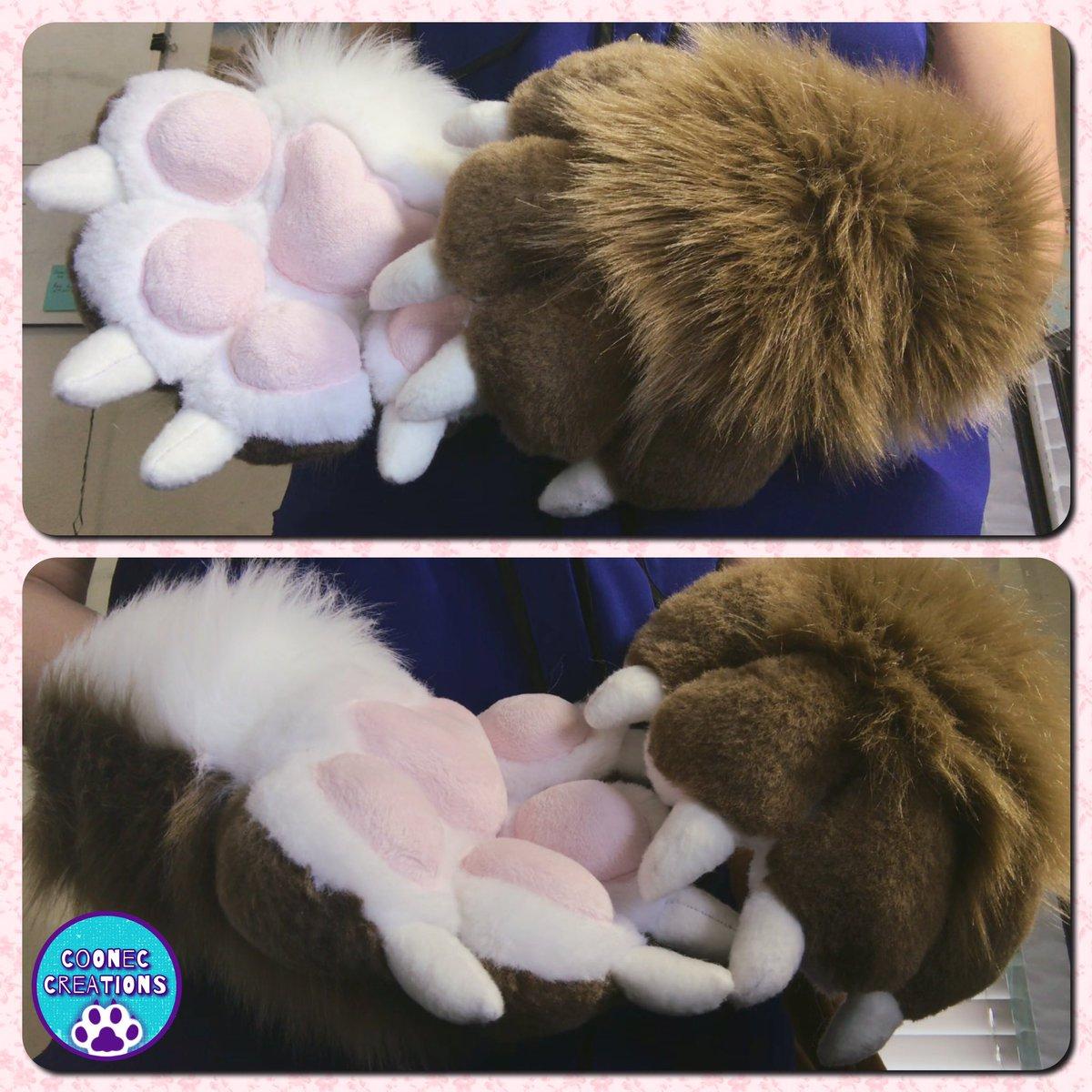 Paws for Annora! ♡   #fursuit #fursuitpaws #fursuiting <br>http://pic.twitter.com/cQZicoHuGp