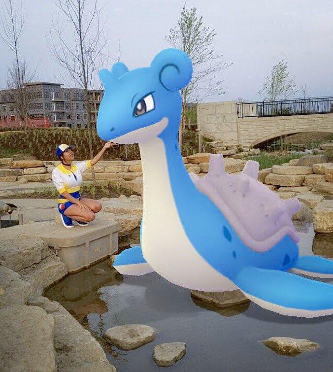 *cue the OG surfing music*   #PokemonGO <br>http://pic.twitter.com/nqcEF9Geyk