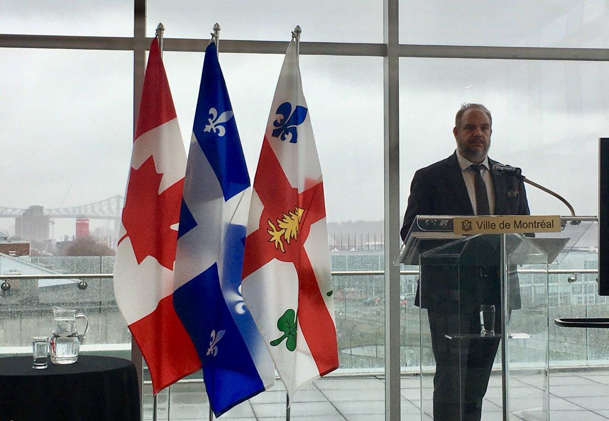 Tarification de l'eau résidentielle à Montréal: « On n'est pas là du tout» -président du comité exécutif @benoitdorais répond aux craintes du groupe @EauSecours1997 mais n'écarte pas tarification dans les industries et commerces en prévision budget 2020 #polmtl