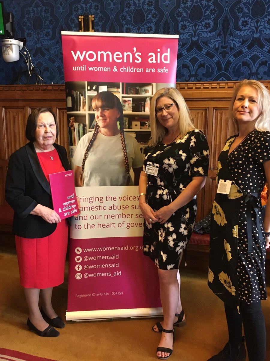 Very good briefing from Women's Aid today on the draft domestic abuse Bill in the Lords