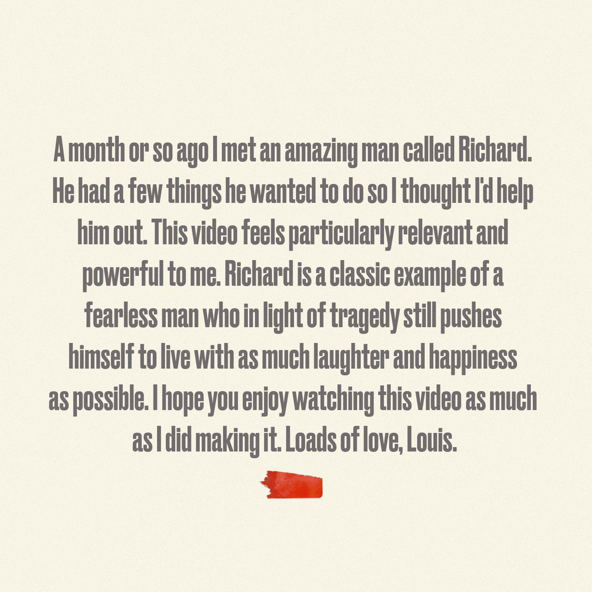 Louis Tomlinson's photo on #LouisAndRichard