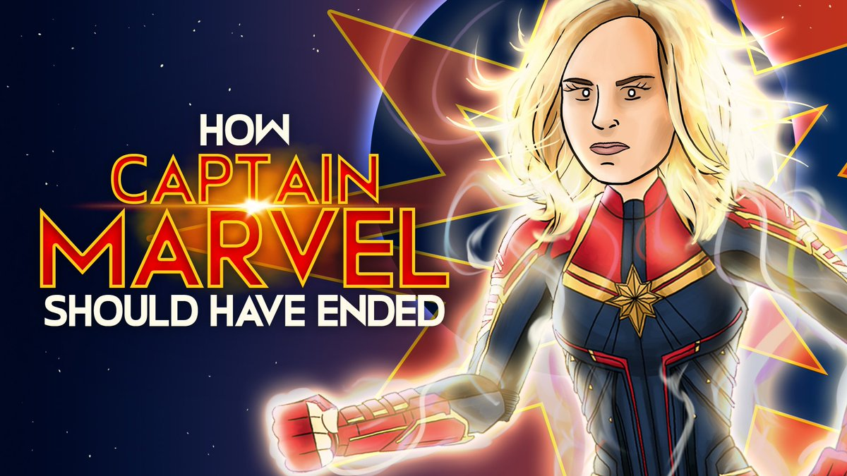 How Captain Marvel Should Have Ended! Watch Now -  https:// youtu.be/NscJhEV_Kbs  &nbsp;   #captainmarvel  #hishe<br>http://pic.twitter.com/pOFOI7zkU9
