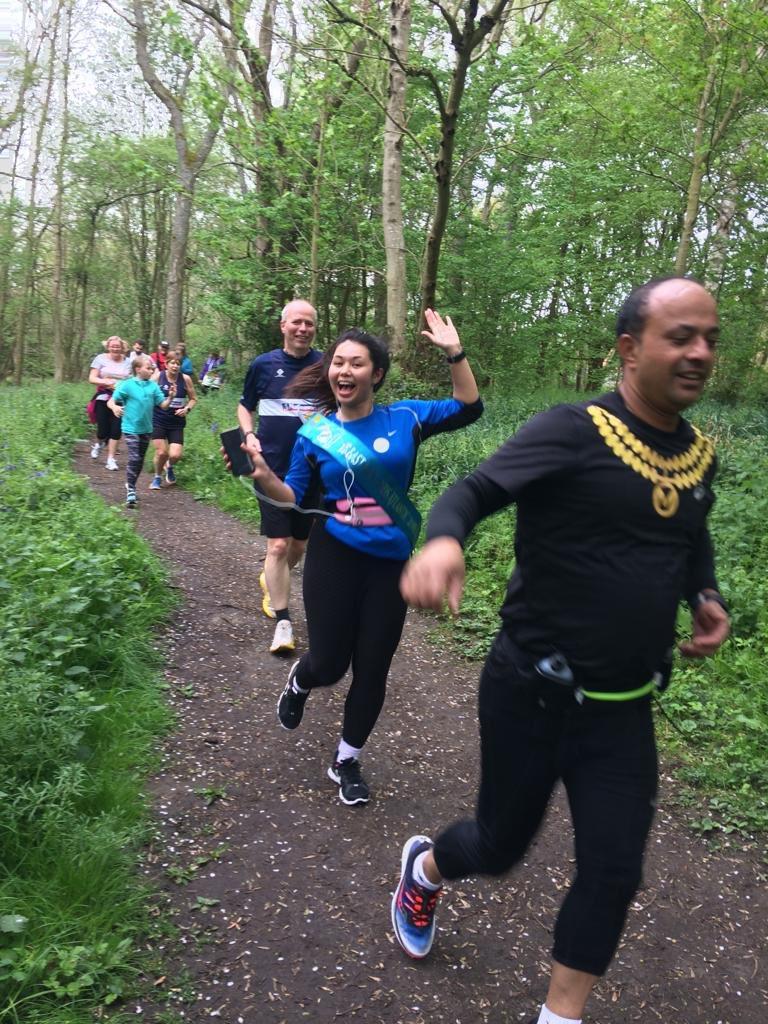 @NewSwindonHalf @NationwidePress @junabali running through the Croft woods!