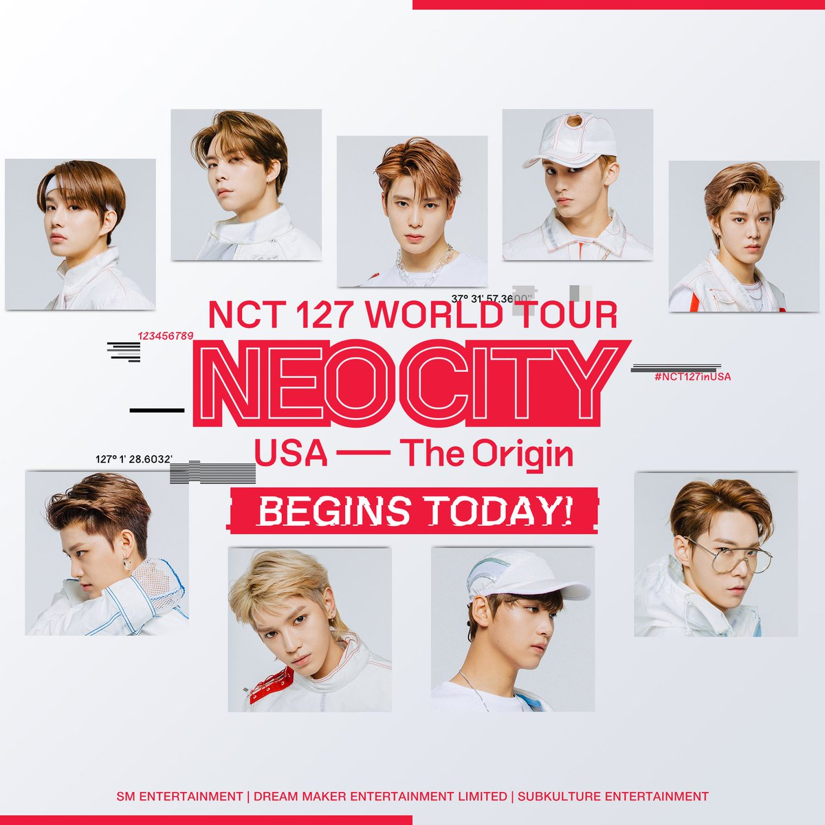 Today's the day!  NCT 127 WORLD TOUR NEO CITY: USA — The Origin is finally here  We can't wait for the show to start! See you soon, Newark  #NEOCITYinUSA #NCT127inUSA #NCT127   Last chance to get tickets for #NCT127inNJ:  https://www. ticketmaster.com/event/02005670 E19969A1 &nbsp; … <br>http://pic.twitter.com/W5ew9XrFQK