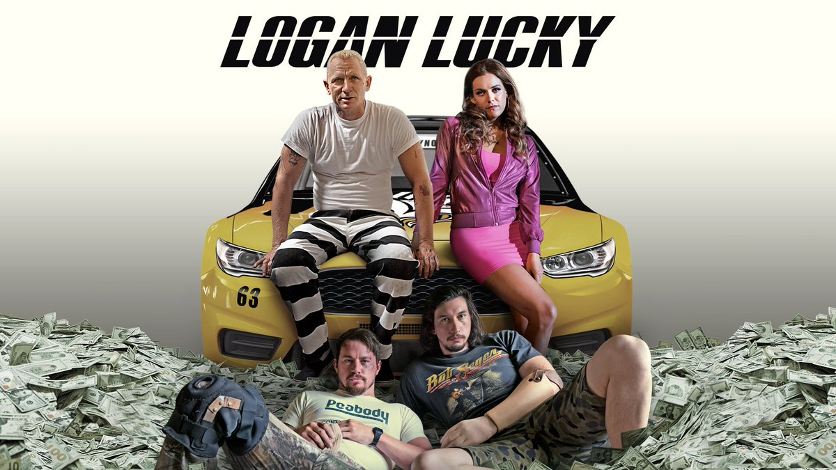 Steven Soderbergh doesnt always make movies youre able to smile all the way through, but LOGAN LUCKY is a rare exception in which he leans on your pleasure button harder than a delivery-truck driver stuck in rush hour traffic! Available in: 🇺🇸 📽️: bit.ly/_LoganLucky