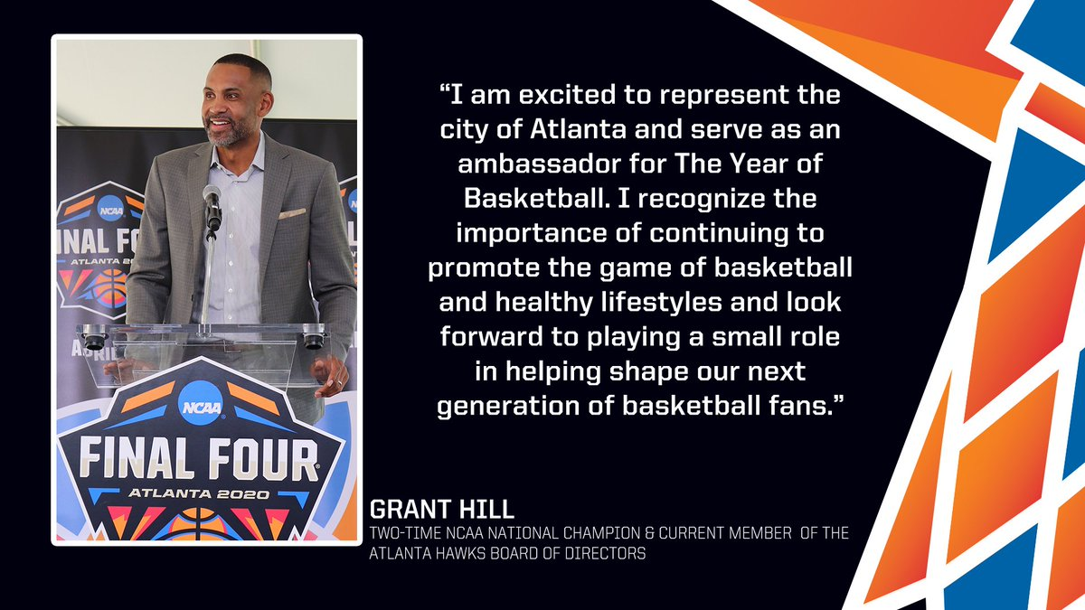 We're excited to welcome Grant Hill to our year-long celebration of basketball in Atlanta!