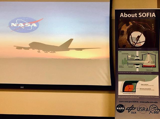 Morning briefing. Getting to know the flying telescope @nasaarmstrong @sofiatelescope @nasa #space bit.ly/2ZzV6O2