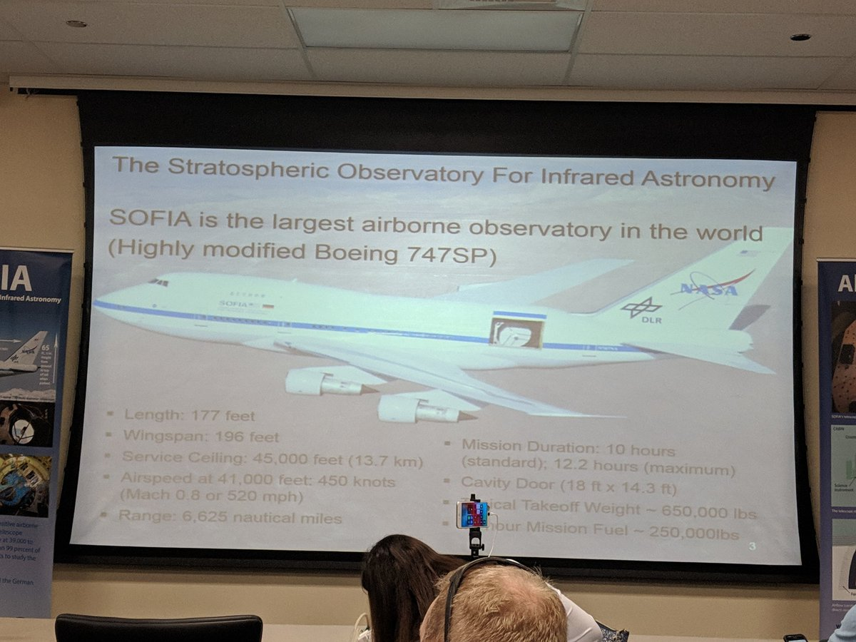 The @SOFIAtelescope platform has been flying since 1977, originally starting its career with PanAm #NASASocial