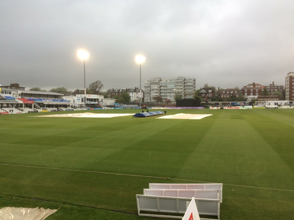No further play today Somerset win on D/L method as @SussexCCC winning start @RLODCup comes to an end, next up Middlesex at Lords on Saturday live commentary @BBCSussexSport from 11