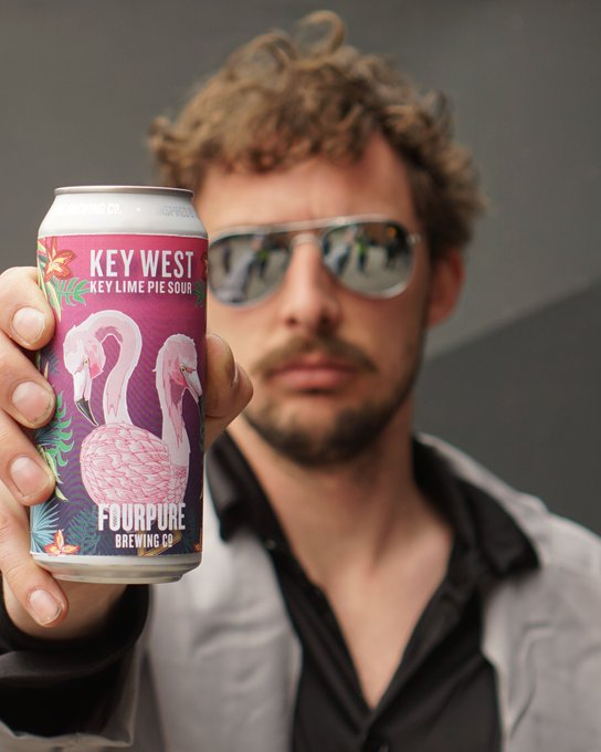 Image for Who's EXCITED for our new Key Lime Pie Sour???   To celebrate this little slice of Florida we're doing what we do best. Throw a PARTY!   Get down to @fourpuretaproom May 3 and get your hands on Key West https://t.co/RyysvNieWY
