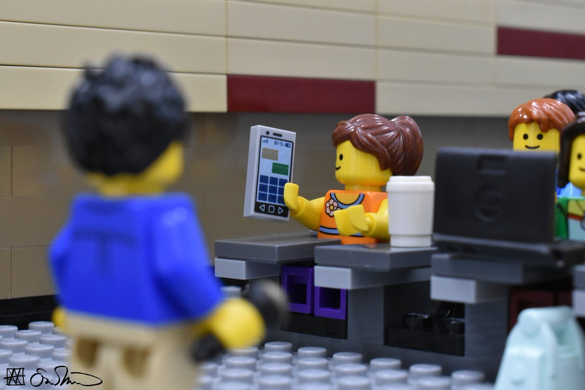Spotting a student on her phone in the front row, the grad student begrudgingly respects how little she cares about the class.
