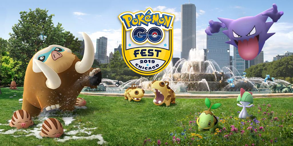 Trainers, the drawing for Chicago Pokémon GO Fest tickets is closed. We'll be notifying winners on a rolling basis starting soon! Make sure to check your in-app Events page to see if you've been selected! #PokemonGOFest2019<br>http://pic.twitter.com/mqKEevGZGu