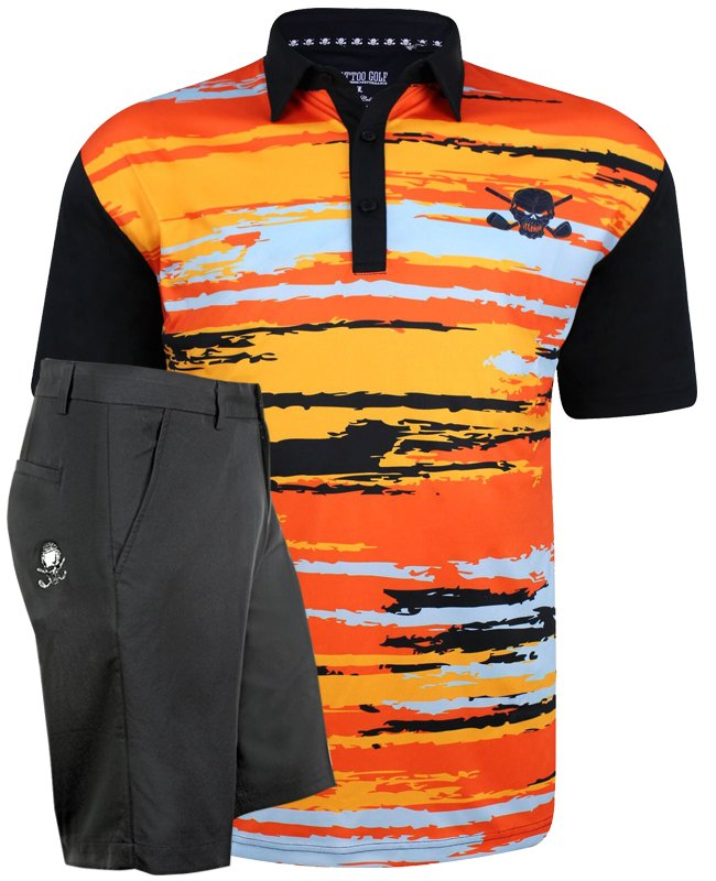 7213bf82 New Golf outfit! That '70s men's golf shirt & ProCool golf shorts - what