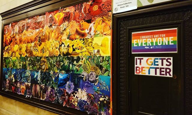The best thing I saw in NYC  #NYPL #library #librariesareforeveryone #newyork #itgetsbetter #pride  http:// bit.ly/2GzZdRC  &nbsp;  <br>http://pic.twitter.com/2AAwpBaDRX