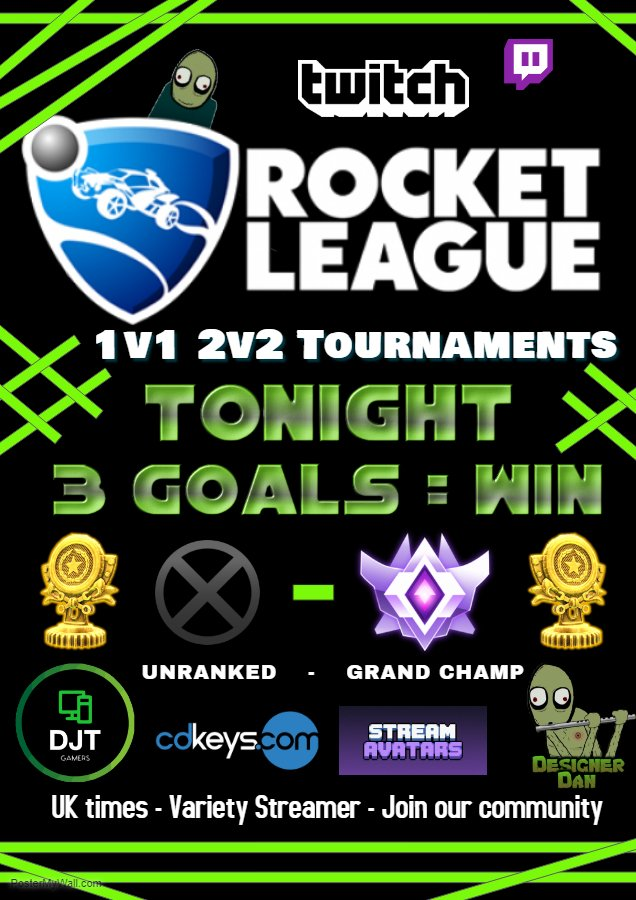 Tournament Time!!  LIVE NOW!  1v1s and 2v2s Get Involved   http:// twitch.tv/DJTgamers  &nbsp;               #westreamers  #twitchtv #SupportSmallStreamers #lurkforce #SupportAllStreamers  #DJTgamers @SupStreamers  @TwitchRetweetr  @FearRTs<br>http://pic.twitter.com/jE5bzhVGCD