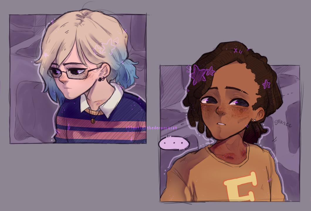 [modern au, bird arc] even after knowing about her permanent limp, clem can be seen trying to play baseball after school and it often ends up with vi and lou having to carry her home. { #twdg #violentine }<br>http://pic.twitter.com/AFA8mJ18Kb