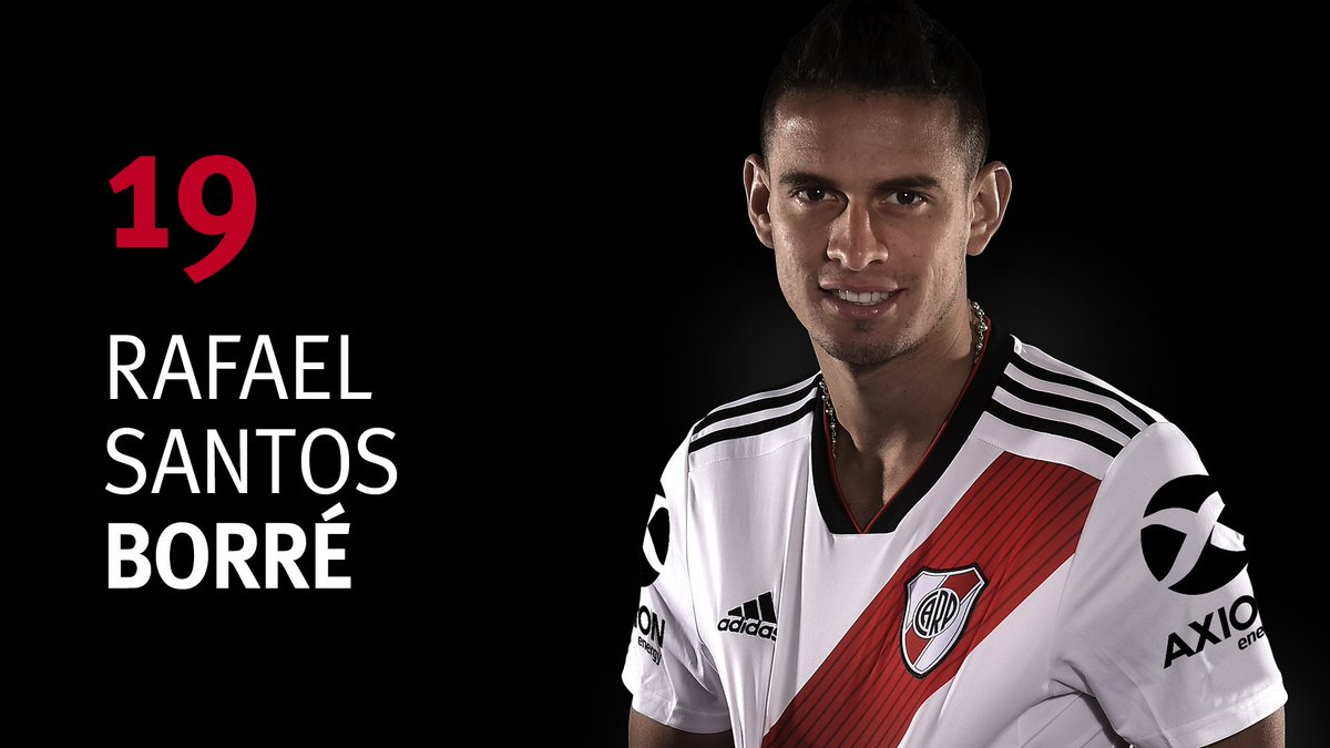 River Plate's photo on Borré