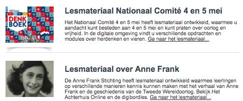Op zoek naar tips en tools voor 4 en 5 mei voor jou en jouw collegas? edumailing.nl/index.php?opti… #onderwijs #PO #digibord