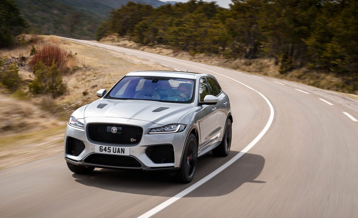 The 550-hp @Jaguar F-Pace SVR is fast without being feral: http://crdrv.co/YiB5jp7