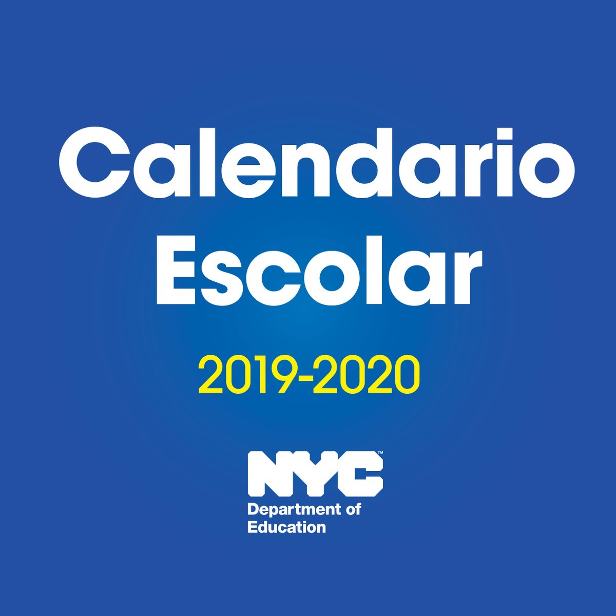 Calendario Luna 2020.Nyc Public Schools On Twitter The 2019 20 School
