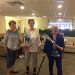 Thanks to Carda Creations for bringing in some fresh spring fashions today! Our residents were wonderful models - happy shopping! #springfashion #happyshopping #augustinehouse #forbetterretirementliving