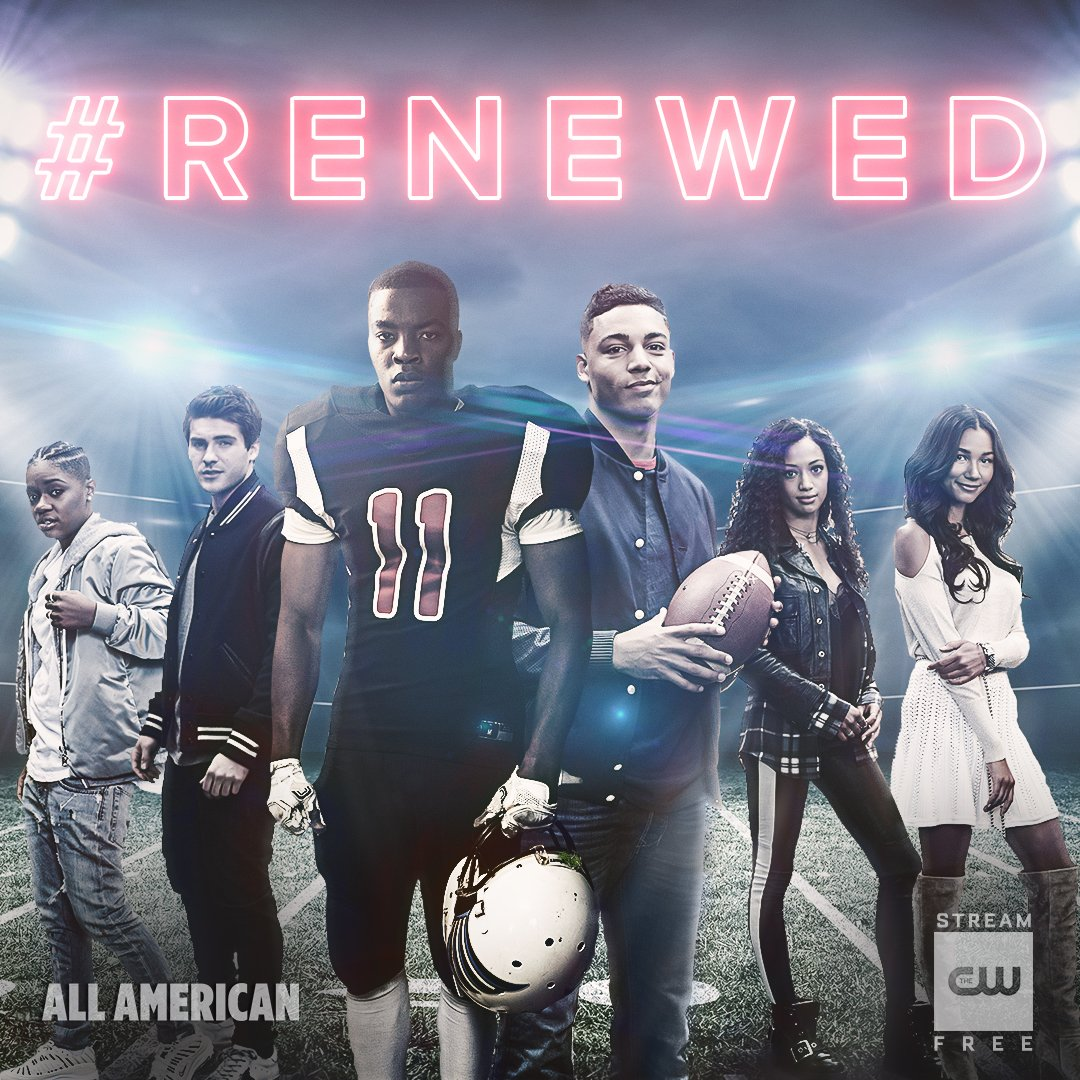 Never count them out. #AllAmerican has been renewed for Season 2!