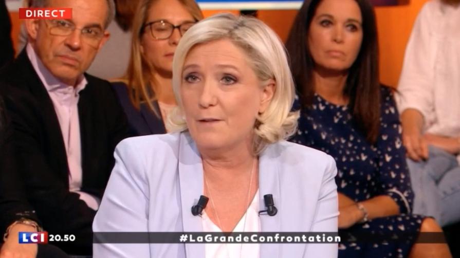 Marine Le Pen's photo on #LaGrandeConfrontation