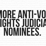 Image for the Tweet beginning: Some of Trump's judicial nominees