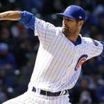 Cole Hamels out to extend his Wrigley Field success and the Cubs' winning streak against the Dodgers https://t.co/goFScJTnih #Cubsessed #iamCubsessed #ChicagoCubs