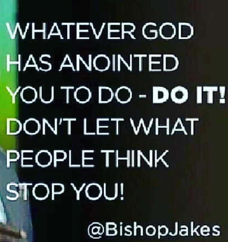 Whatever God Has Anointed You To Do - Do It! Don't Let What People Think Stop You! #justdoit #keepgoing #stay #focus #determined #determination #committed #shine #bright #beautiful #butterfly