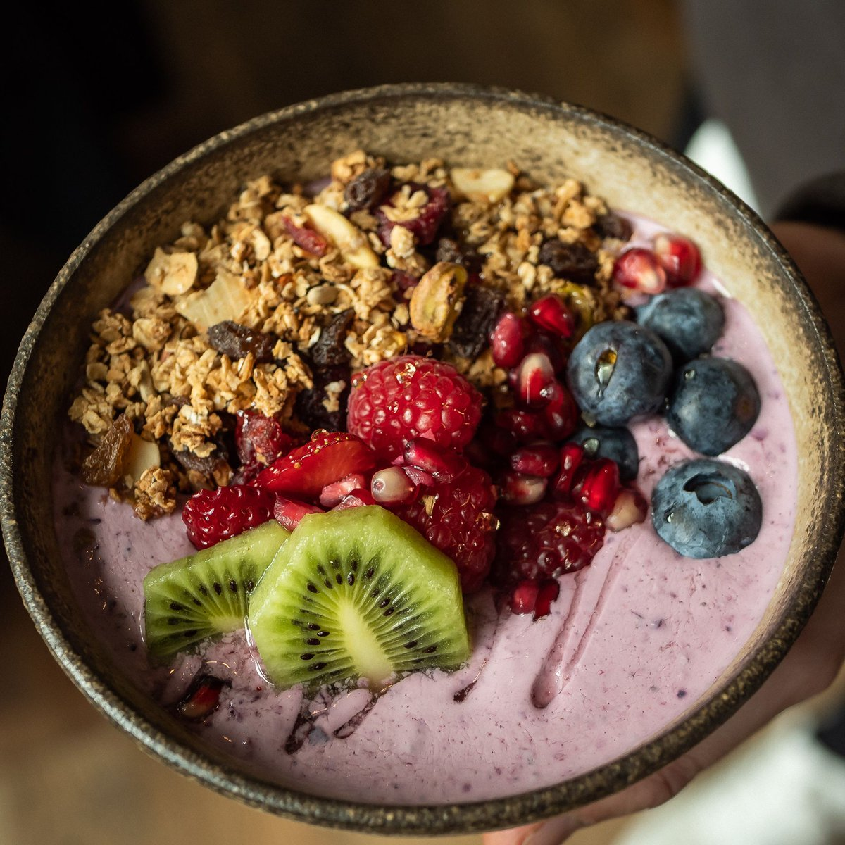 PKB Spinningfields has a new menu coming next week... Check out one of the new dishes - Smoothie Bowl with Homemade Granola #summer