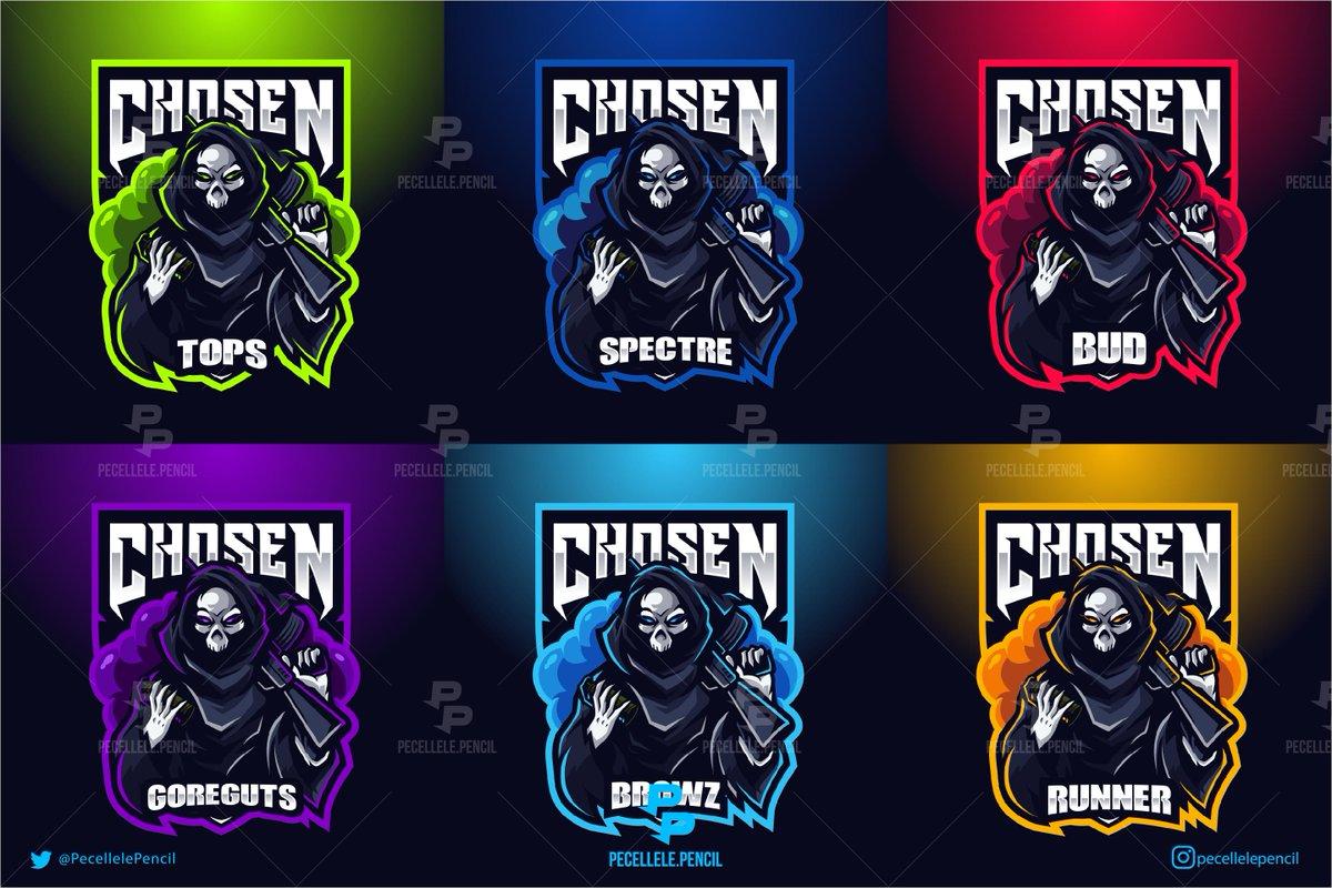 #mascotlogo design for Team Chosen. dm/email for custom order.  @FlyRts @Demented_RTs @GFXCoach @Mighty_RTs @SGH_RTs   #esports #gaminglogo #logogaming #fortnite #pubg #esportslogo #twitch #ApexLegends #logodesigners #logodesigns #squadlogo #Streamer #YouTube #logo #gamerpic.twitter.com/l2Zj36jCcE