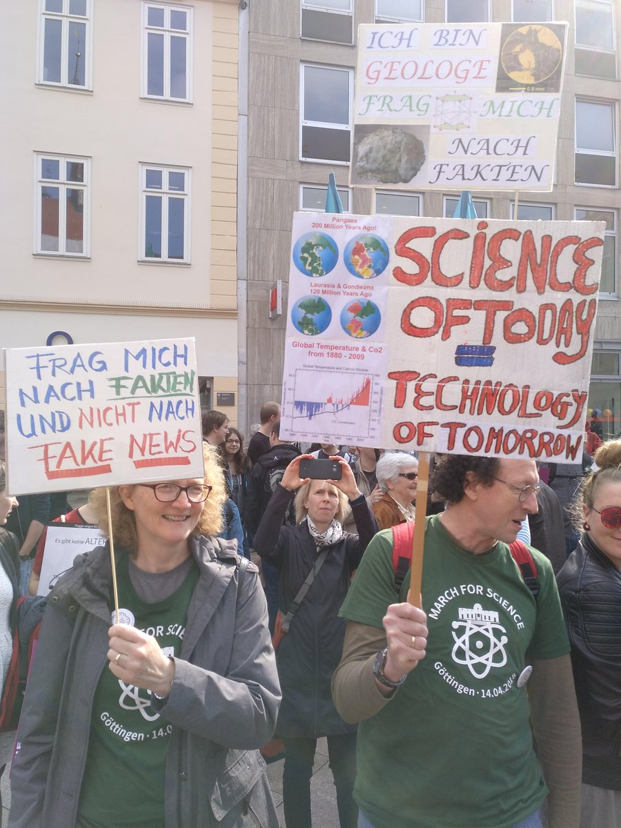 9eb24887b4974b At the  MarchForScience next Week (4th of May) we re asking every scientist  in  Göttingen to join us for our  AskMeAnything during the Warm-Up. Be part  of ...