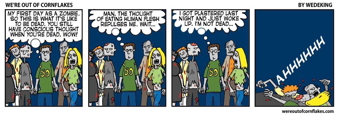 More stupidity at http://wereoutofcornflakes.com #comics #webcomics #funny #comic #webcomic #comicstrip #humor