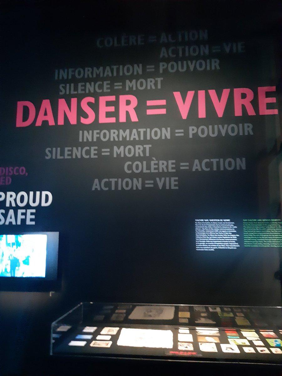 Très belle et instructive expo #electro @philharmonie de #Kraftwerk aux #DaftPunk, avec quelques messages au passage 😉💃