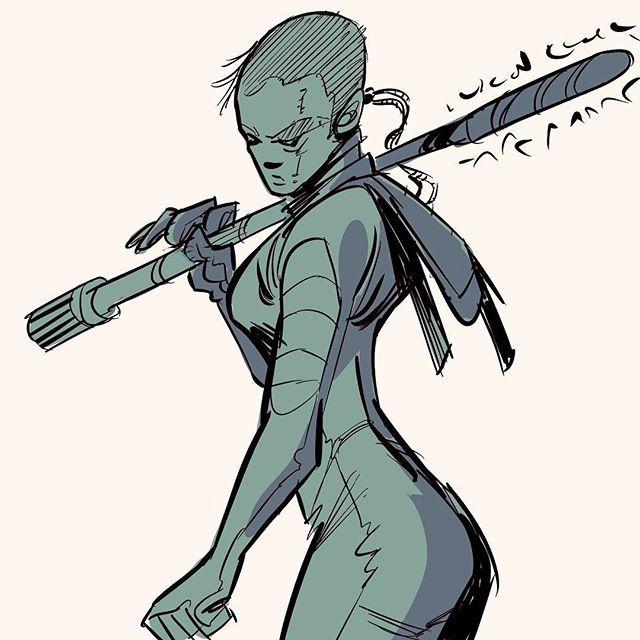 Cyborg  #cyborg #cyberpunk #girl #color #art #comic #comics #illustration #drawing #digitalart #character #characters #characterdesign #cartoon http://bit.ly/2UxBruF
