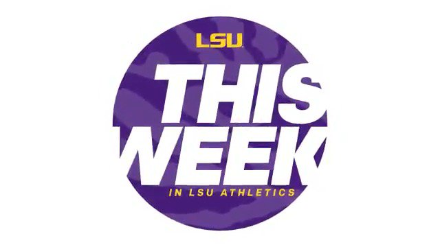 .@LSUTrackField is the only game in town This Week in #LSU Athletics! Bring the family out to this free meet on Saturday. @sq_ford