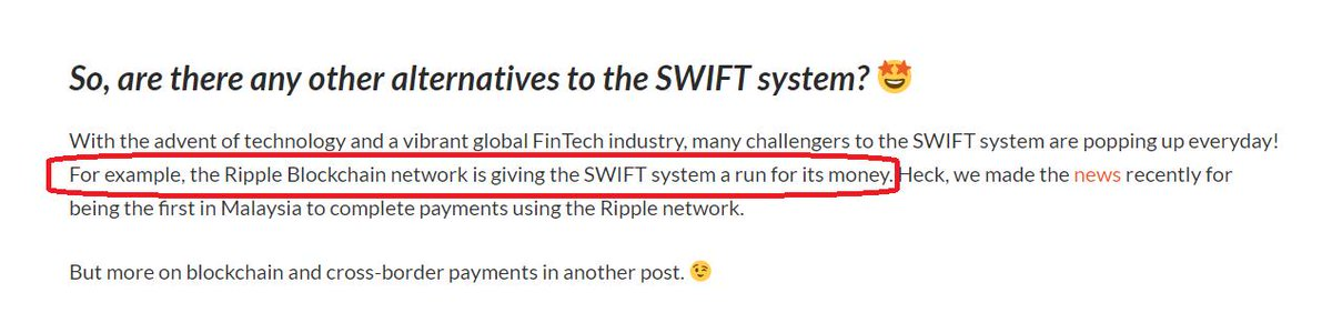 Moneymatch: Rethinking Money Transfer Fees  &quot;For example, the Ripple Blockchain network is giving the SWIFT system a run for its money&quot;  #XRPcommunity @Ripple @moneymatchapp    https:// blog.moneymatch.co/2019/04/19/ret hinking-money-transfer-fees/ &nbsp; … <br>http://pic.twitter.com/JhKW5aX7JI