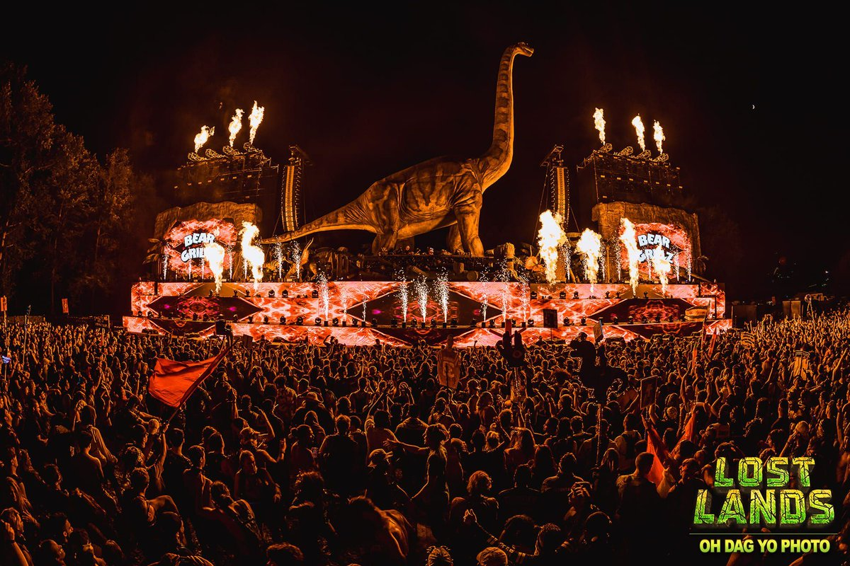 Is this the best @lost_lands lineup yet? 🦕 They're not holding back in year 3 with an absolutely ridiculous lineup of @Excision B2B @ILLENIUMMUSIC, @zedsdead, @WHIPPEDCREAM, @SaidTheSky B2B @iamdabinlee, @EkaliMusic & more   📸: @ohdagyo dncgastrnt.co/lstn