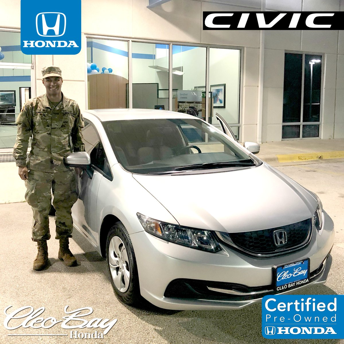 Cleo Bay Honda >> Hondacertifiedpreowned Tagged Tweets And Download Twitter Mp4 Videos