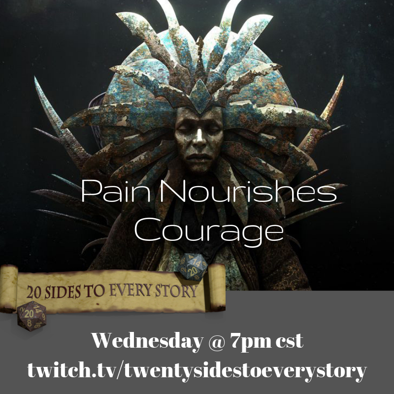 Follow http://twitch.tv/twentysidestoeverystory … to get notified when we go LIVE tonight at 7pm cst for Planescape: Dead Gods! 🔪🔪🔪 Our heroes return to Sigil to come up with a plan to infiltrate the Vault of the Drow on Oerth. #dnd #5e #planescape #twitch (Lady of Pain image by Paolo Giandoso)
