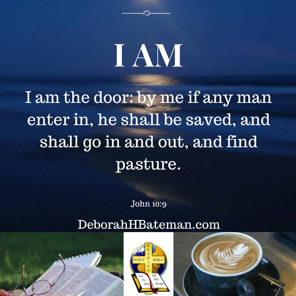 """Come study the #Bible with us """"I Am the Door"""" http://ow.ly/I9O830owbwj #DailyBibleReading #WomensBibleStudy #DeborahHBateman #Jesus #God #LORD #JesusChrist #IAM #IAmtheDoor #Christian #books #Kindle #ebooks #DailyDevotionals #DailyDevotions @RecipeforLife1"""