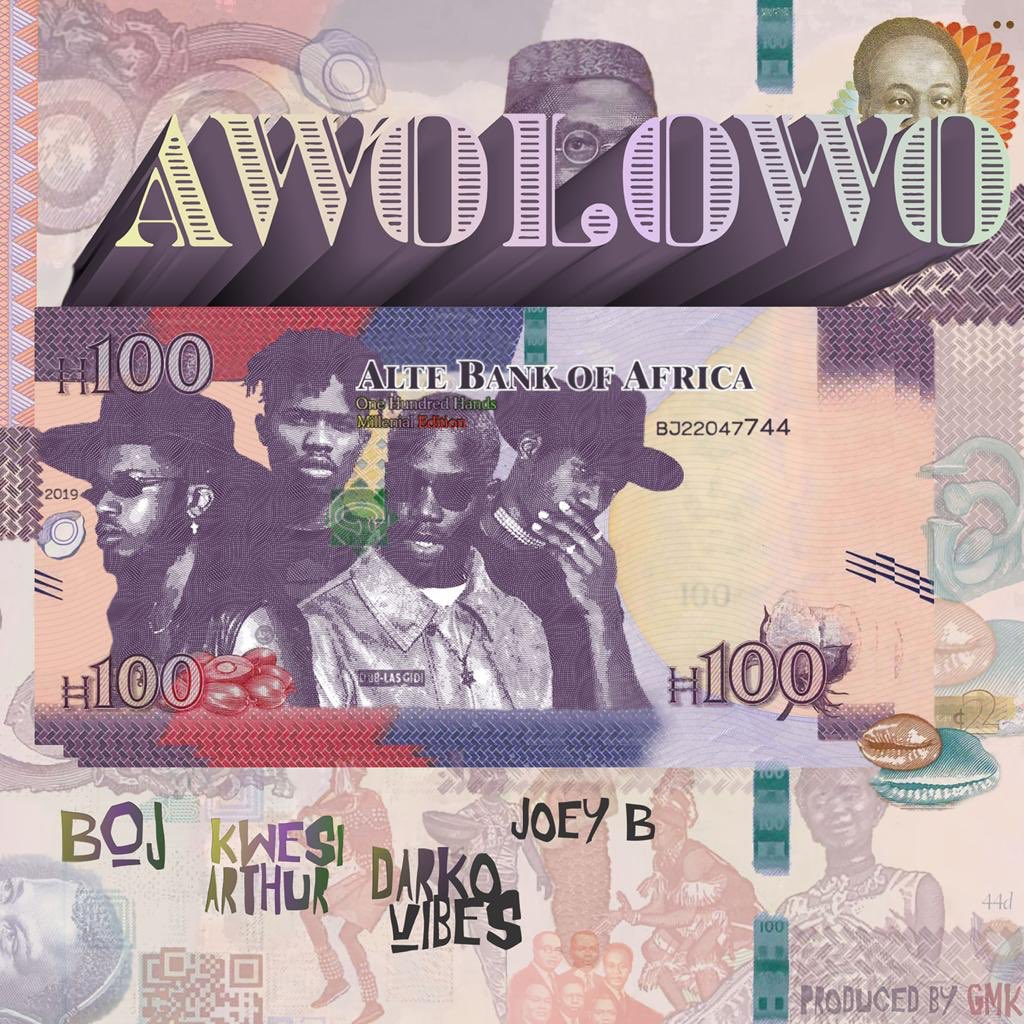 New Gbedu ' Awolowo ' drops on friday !! 🇳🇬🇬🇭 Link up ! Flames i swear ! 🔥 @darkovibes @KwesiArthur_  @1RealJoeyB   @thatBoyGMK