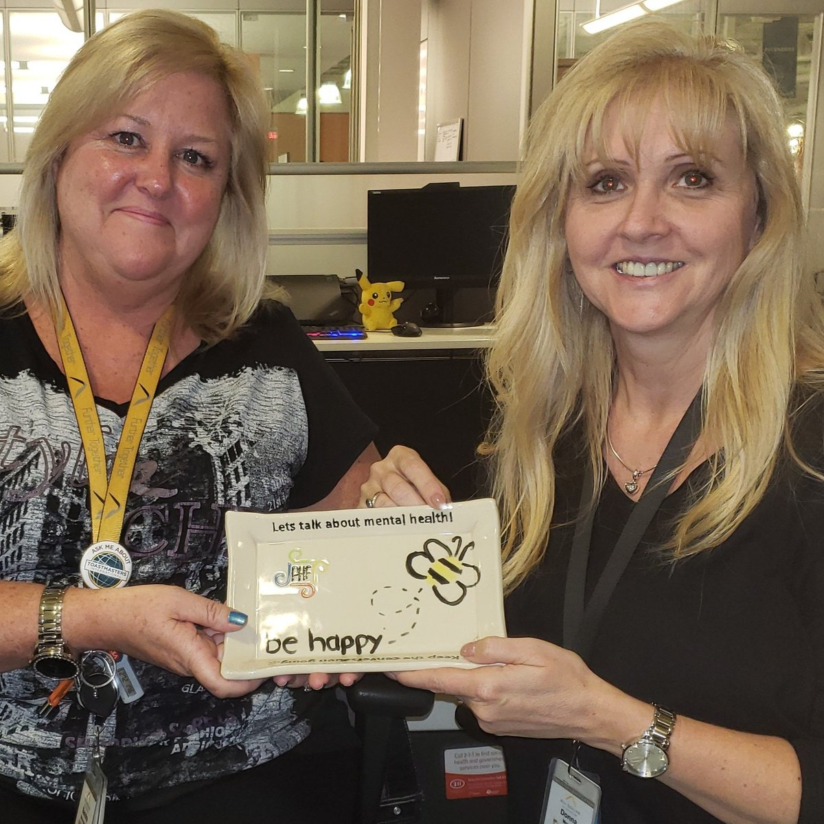 Sending #convoplate629 off to its new home in our London office.  #convoplate @paulhansellfdn  #MentalHealthAwareness